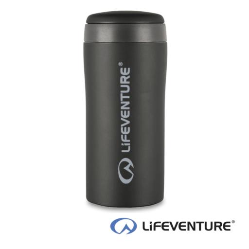 Lifeventure Thermal Mug – Matt Black