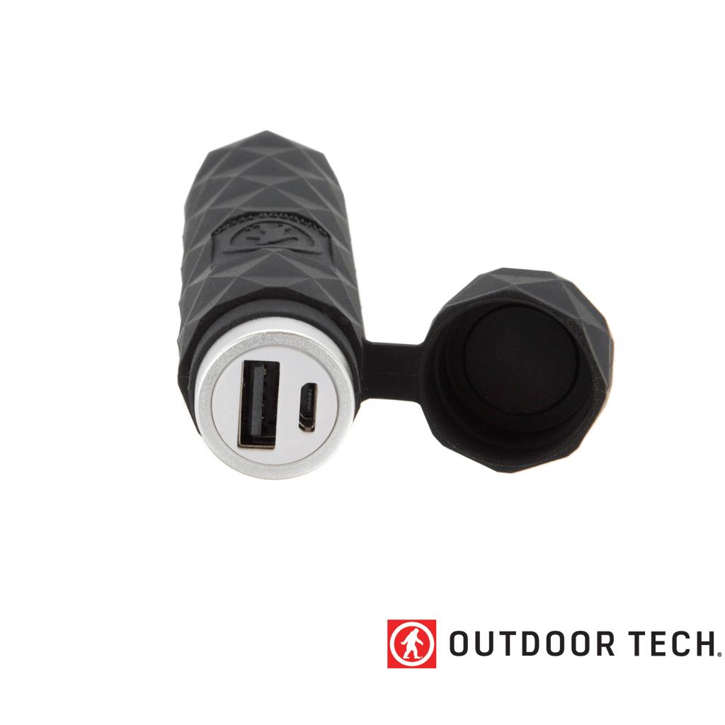 Outdoor Technology Kodiak Mini - Powerbank Rugged Outdoor Charger - 2.6 K - Black