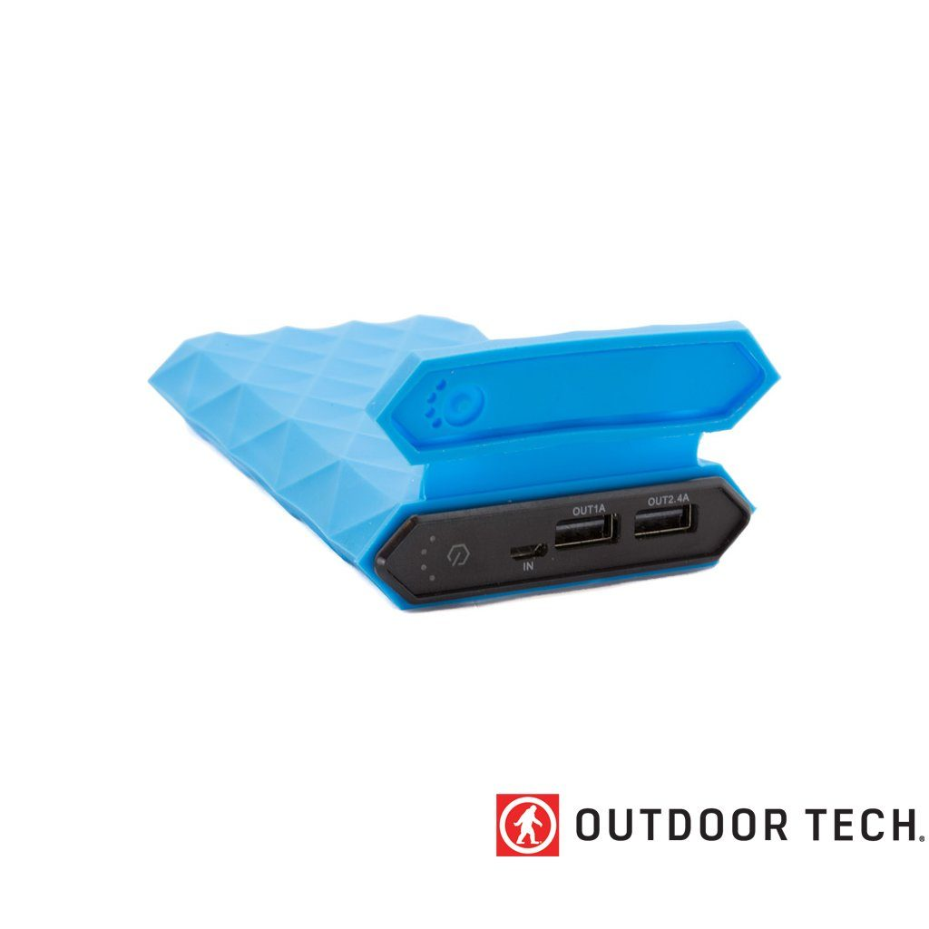 Outdoor Technology Kodiak Plus - Powerbank Rugged Outdoor Charger - 10 K - Electric Blue