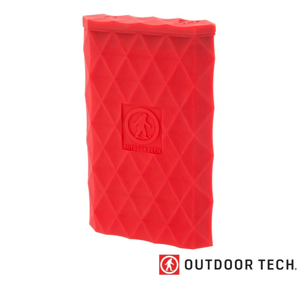 Outdoor Technology Kodiak Plus - Powerbank Rugged Outdoor Charger - 10 K - Red