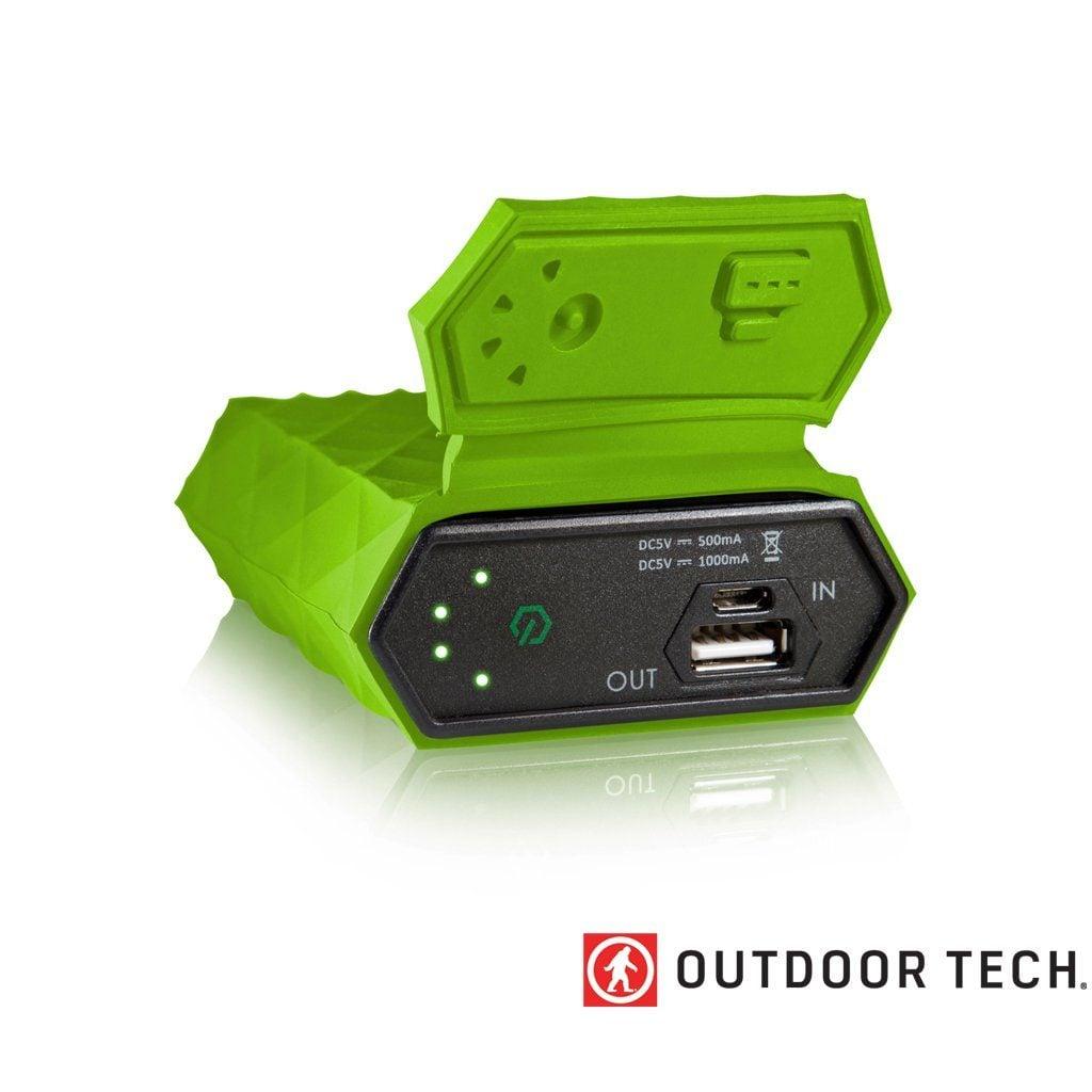 Outdoor Technology Kodiak - Powerbank Rugged Outdoor Charger - 6 K - Glow