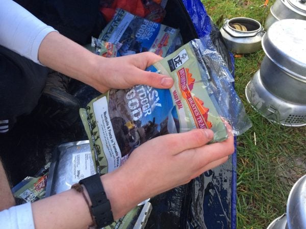 How to: Cook a Ration Pack