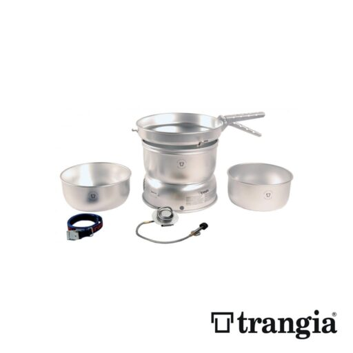 Trangia 25-1 GB Stove Alloy pans with Gas Burner