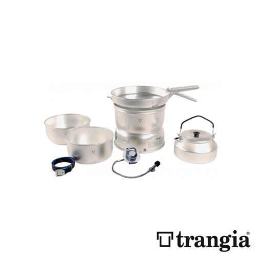 Trangia 25-2 GB Stove Alloy pans with Kettle and Gas Burner