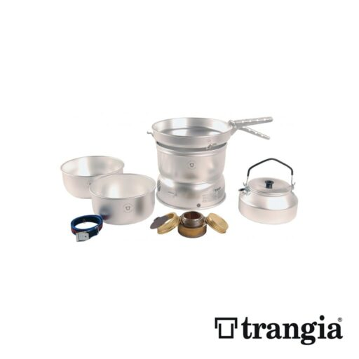 Trangia 27-2 Stove Alloy pans with Kettle