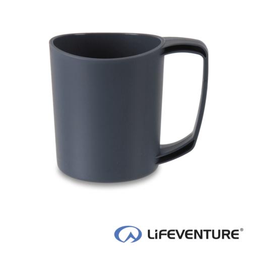 Lifeventure Ellipse Plastic Camping Mug – Graphite