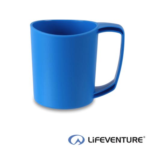 Lifeventure Ellipse Plastic Camping Mug – Blue