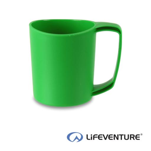 Lifeventure Ellipse Plastic Camping Mug – Green