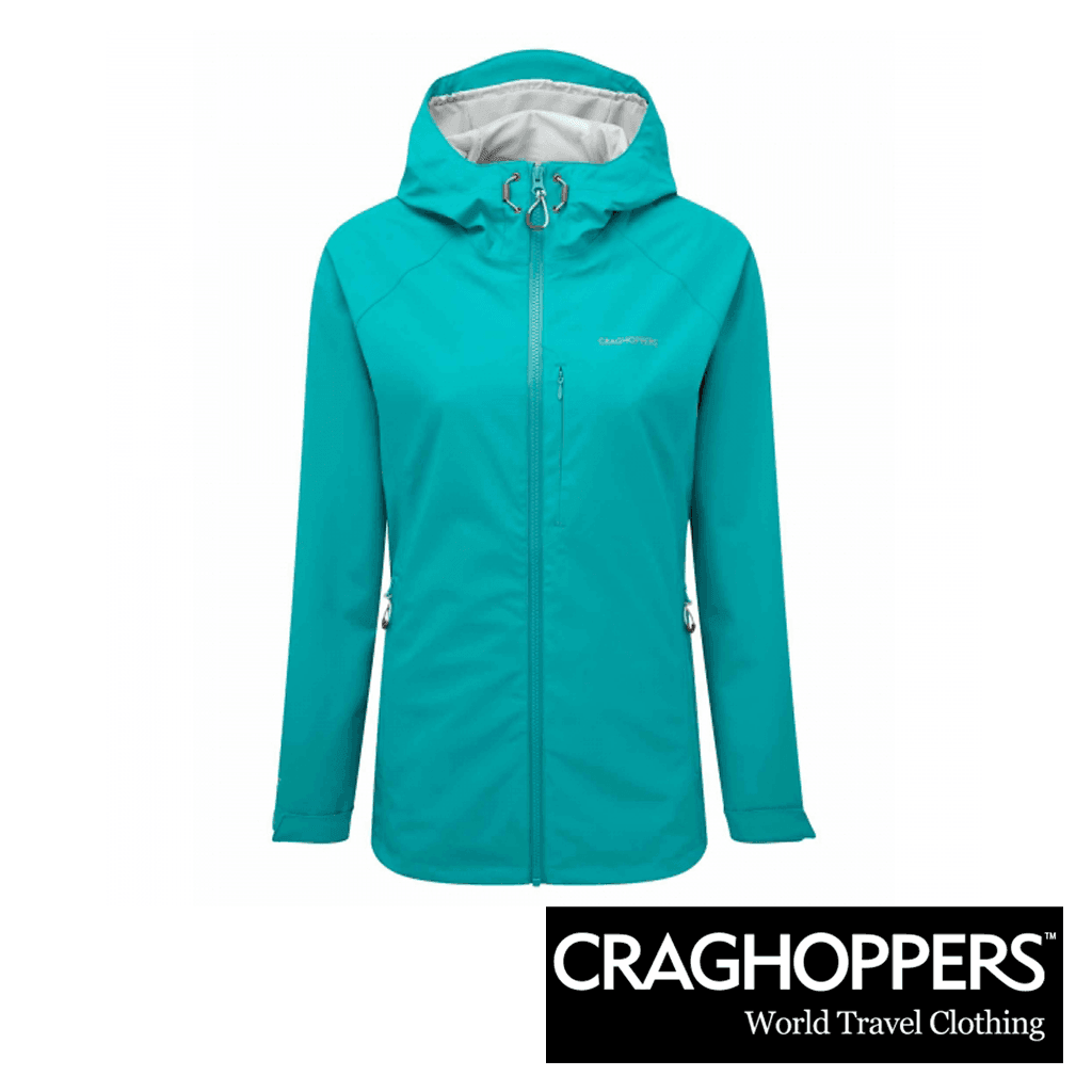Craghoppers Sienna Gore-Tex Jacket - Bright Turquoise