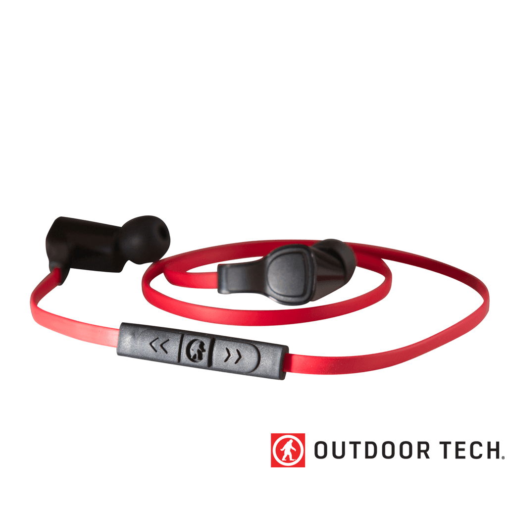 Outdoor Technology Orca - Wireless Earbuds - Red