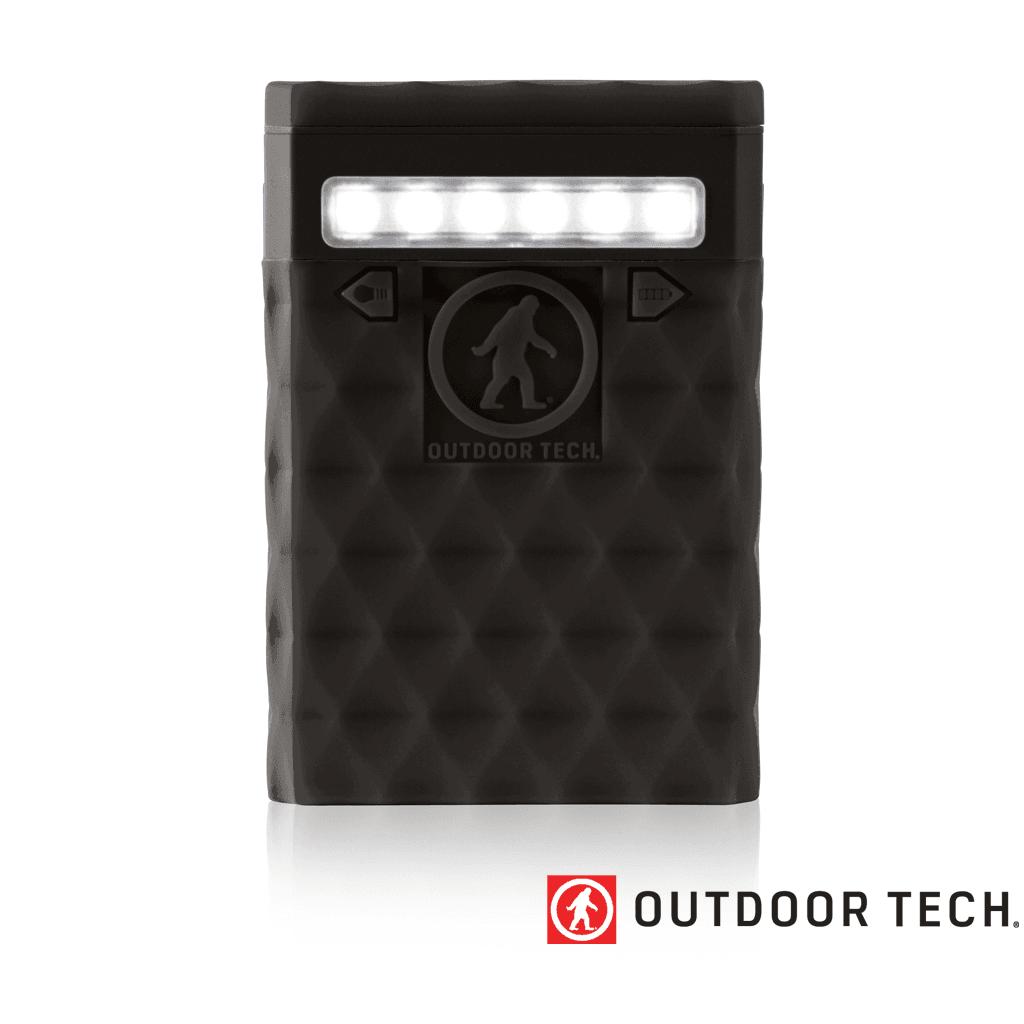 Outdoor Technology Kodiak 2.0 Plus - Powerbank Rugged Outdoor Charger - 10 K - Black