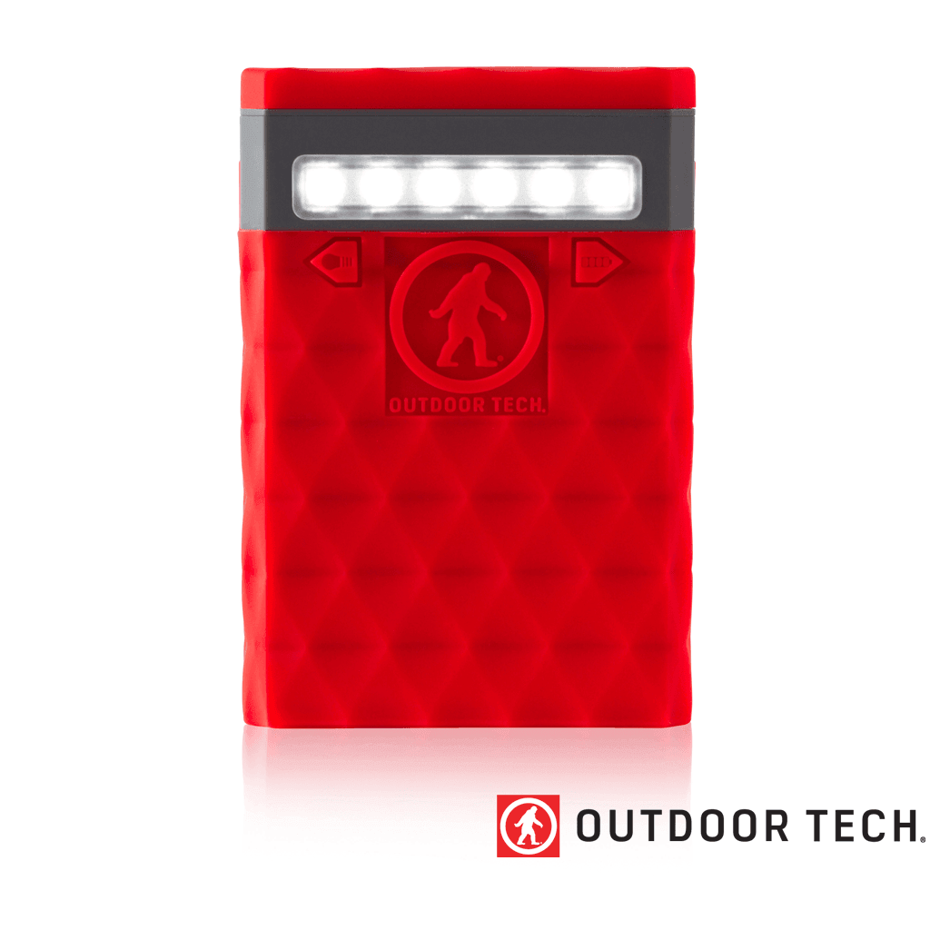 Outdoor Technology Kodiak 2.0 Plus - Powerbank Rugged Outdoor Charger - 10 K - Red