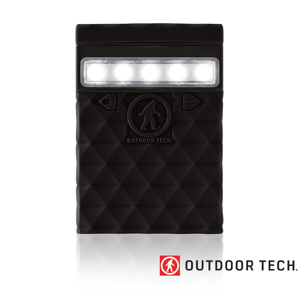Outdoor Technology Kodiak 2.0 - Powerbank Rugged Outdoor Charger - 6 K - Black