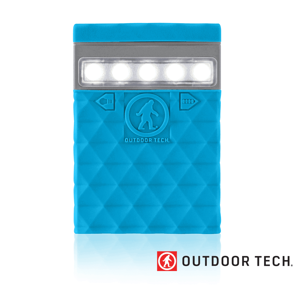 Outdoor Technology Kodiak 2.0 - Powerbank Rugged Outdoor Charger - 6 K - Electric Blue