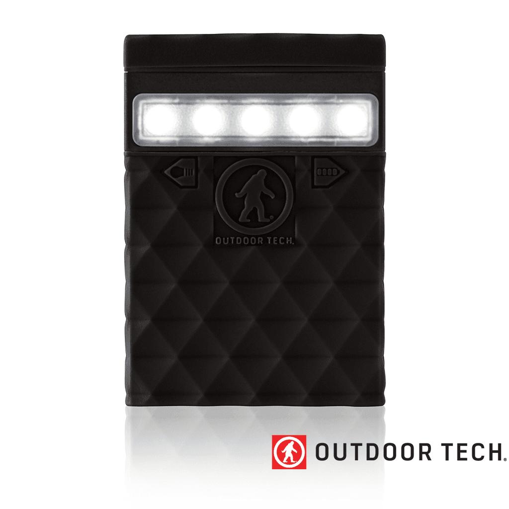 Outdoor Technology Kodiak 2.0 Mini - Powerbank Rugged Outdoor Charger - 2.6 K - Black