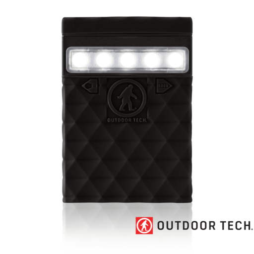 Outdoor Technology Kodiak 2.0 Mini – Powerbank Rugged Outdoor Charger – 2.6 K – Black