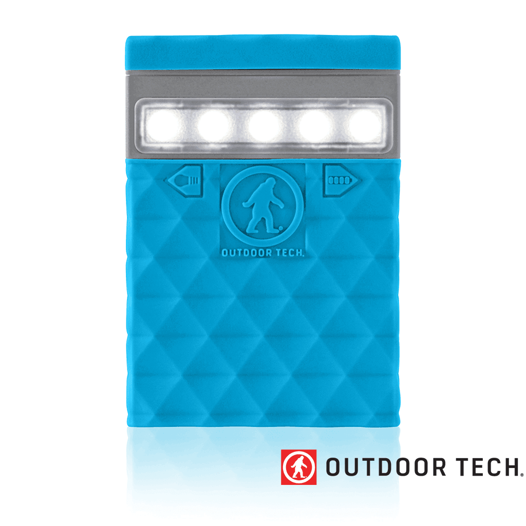 Outdoor Technology Kodiak 2.0 Mini - Powerbank Rugged Outdoor Charger - 2.6 K - Electric Blue