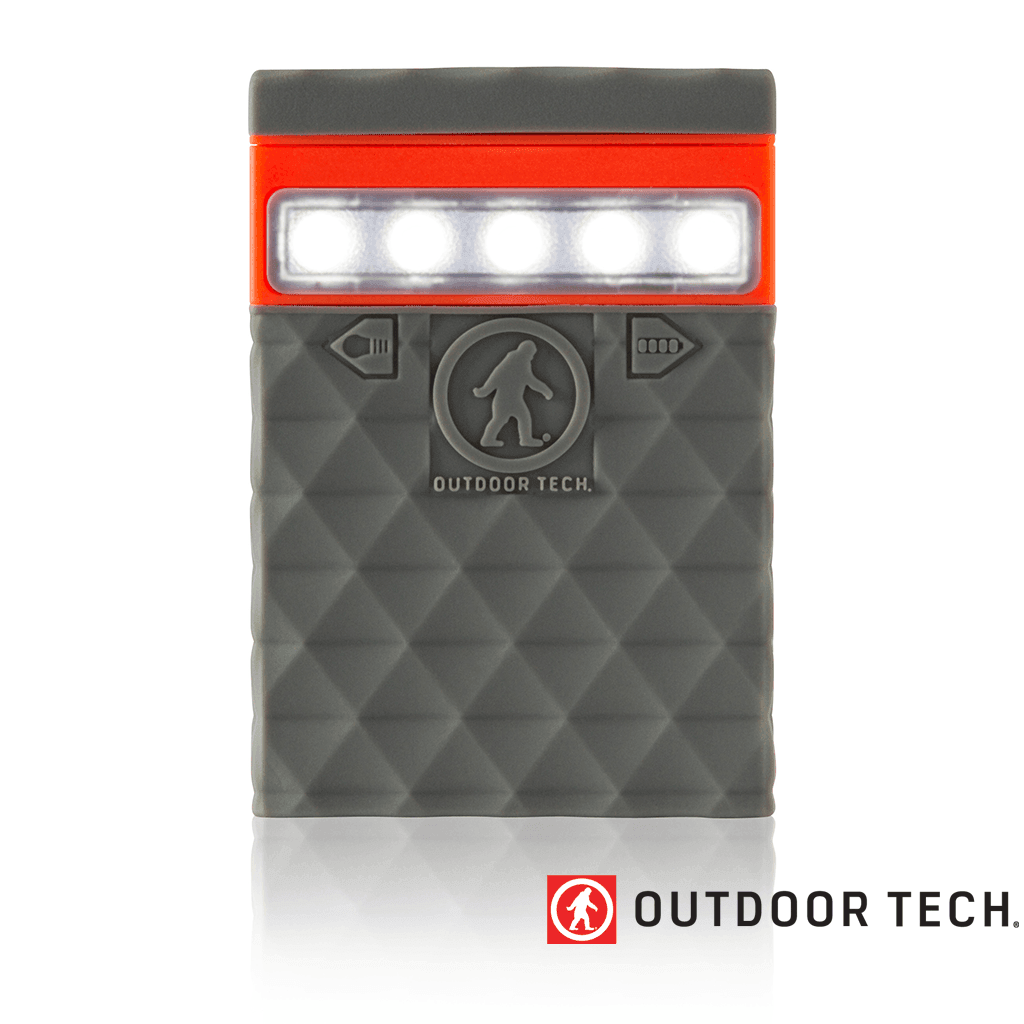 Outdoor Technology Kodiak 2.0 Mini - Powerbank Rugged Outdoor Charger - 2.6 K - Grey / Orange