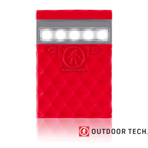 Outdoor Technology Kodiak 2.0 Mini – Powerbank Rugged Outdoor Charger – 2.6 K – Red