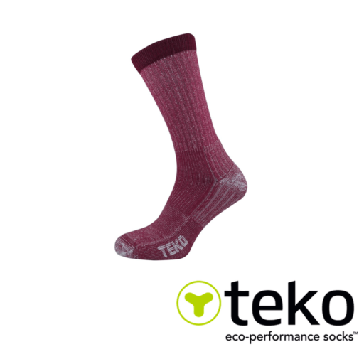 Teko Women's Merino Hiking Socks Light Cushion