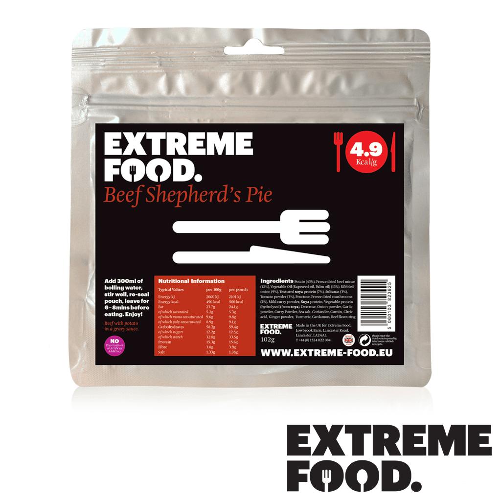 Extreme Food Beef Shepherds Pie