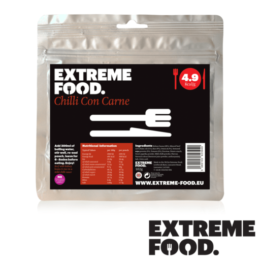 Extreme Food Mexican Chilli con Carne