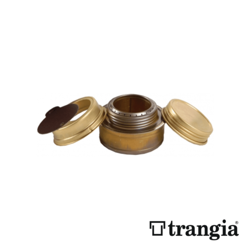 Trangia Spirit Burner with Screwcap, Washer and Simmer Ring