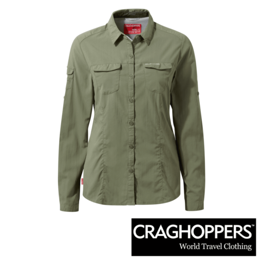 Craghoppers Women's NosiLife Adventure Long Sleeve Shirt