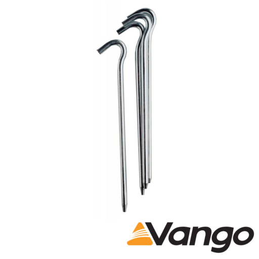 Vango Alloy Pin Peg – 19 cm x 7 mm – 10 Pegs