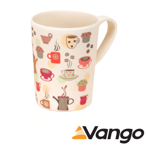 Vango Bamboo Mug – 350 ml – Coffee Cup Print