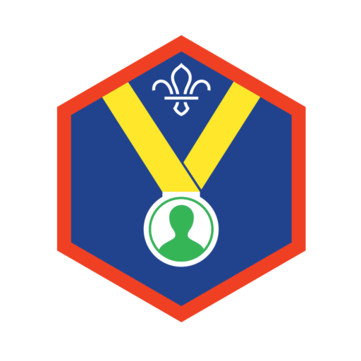 Scouts Personal Challenge Award Badge