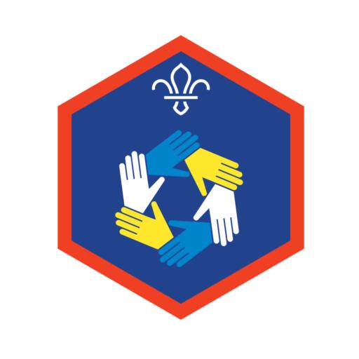 Scouts Teamwork Challenge Award Badge