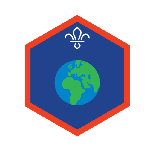 Scouts World Challenge Award Badge