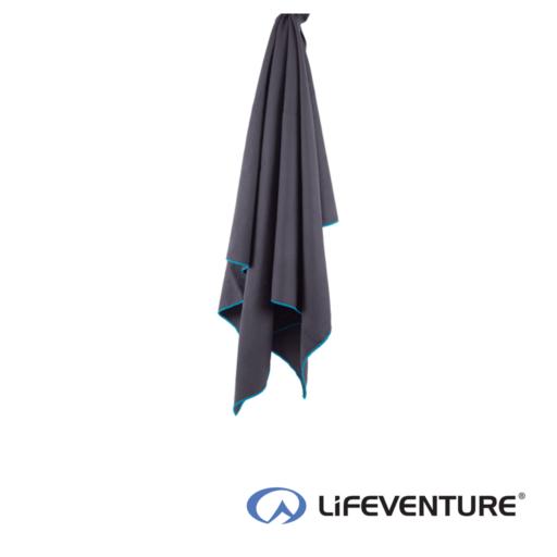 Lifeventure SoftFibre Lite Travel Towel – Giant – Grey
