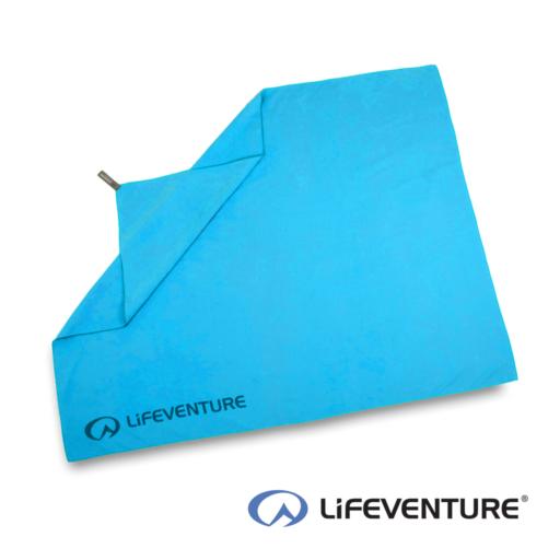 Lifeventure SoftFibre Travel Towel – Giant – Blue