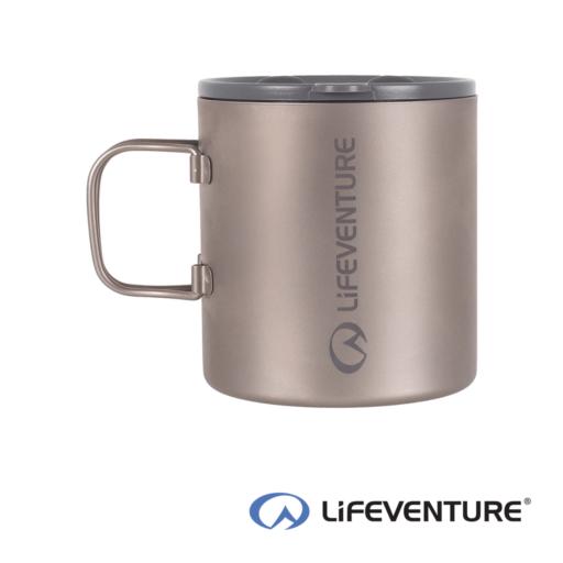 Lifeventure Titanium Insulated Mug