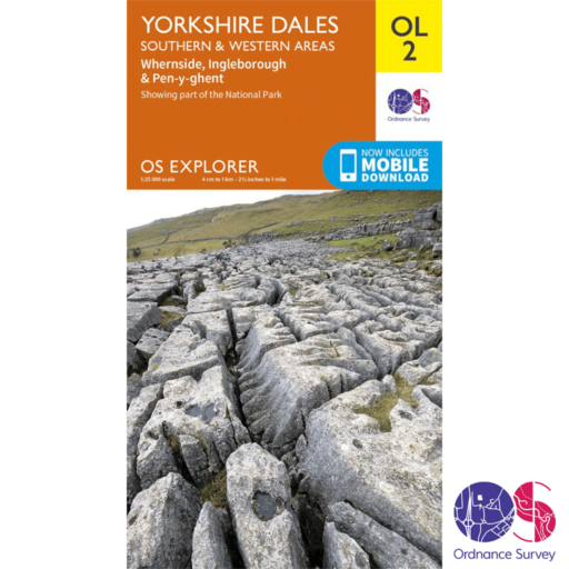 Ordnance Survey Explorer – OL 2 – Yorkshire Dales S and W
