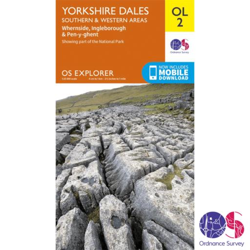Ordnance Survey Explorer – OL 2 – Yorkshire Dales S and W