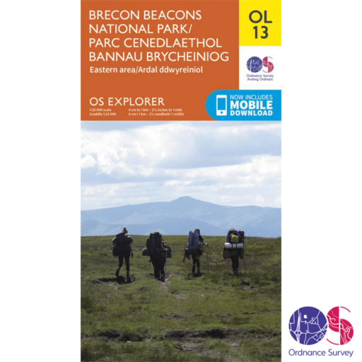 Ordnance Survey Explorer – OL 13 – Brecons East