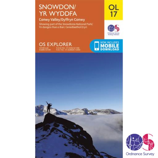 Ordnance Survey Explorer – OL 17 – Snowdon