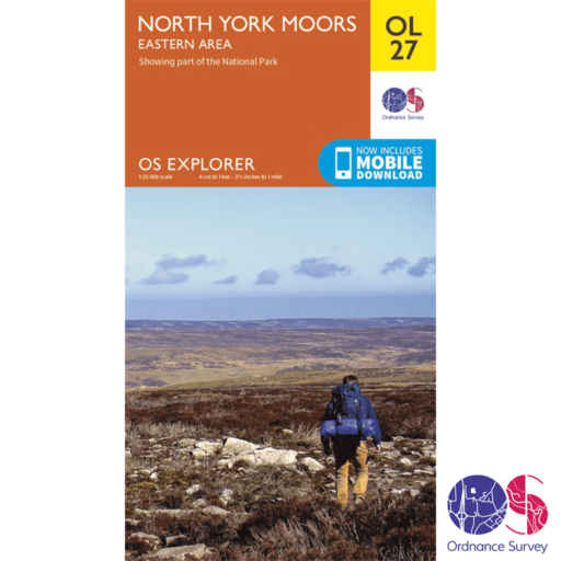 Ordnance Survey Explorer – OL 27 – North York Moors E