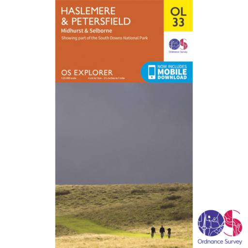 Ordnance Survey Explorer – OL 33 – Haslemere and Petersfield