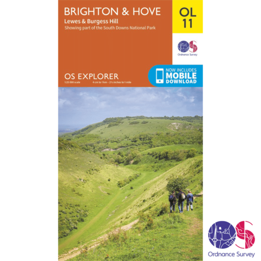 Ordnance Survey Explorer – OL 11 – Brighton and Hove
