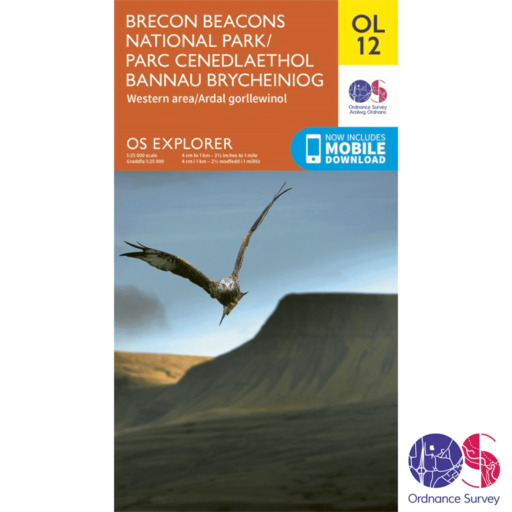 Ordnance Survey Explorer – OL 12 – Brecons West