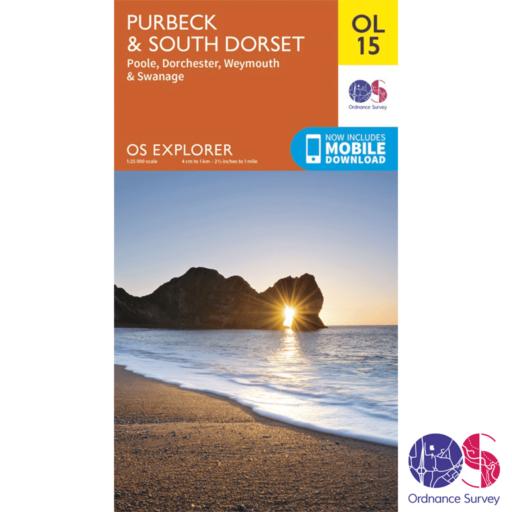 Ordnance Survey Explorer – OL 15 – Purbeck and South Dorset