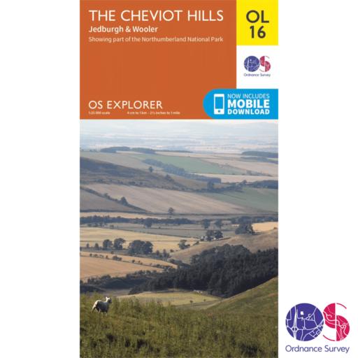 Ordnance Survey Explorer – OL 16 – Cheviot Hills