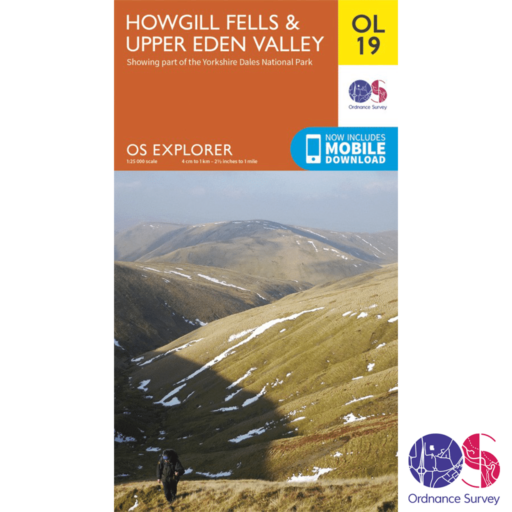 Ordnance Survey Explorer – OL 19 – Howgill Fells and Upper Eden Valley