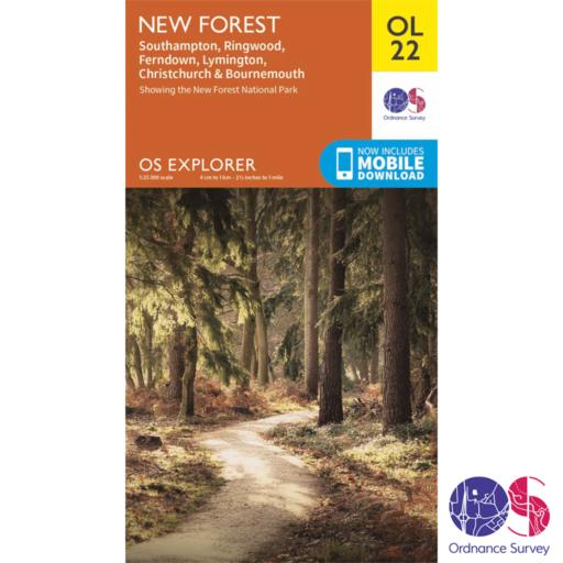Ordnance Survey Explorer – OL 22 – New Forest