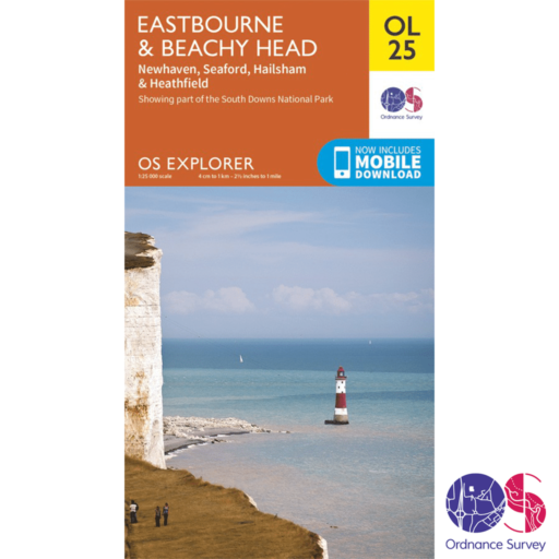 Ordnance Survey Explorer – OL 25 – Eastbourne and Beachy Head