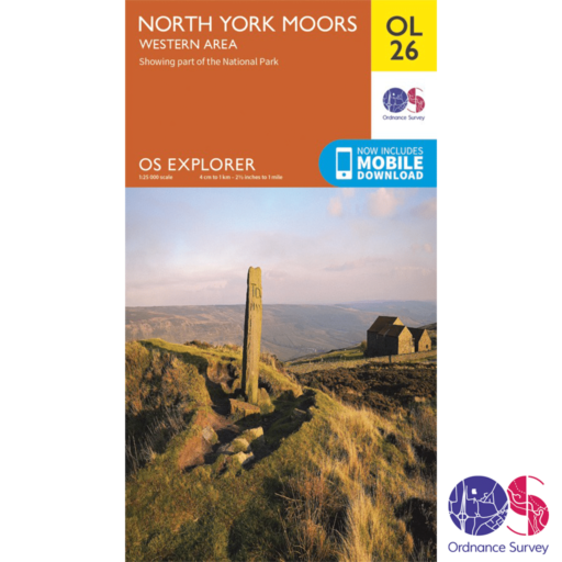 Ordnance Survey Explorer – OL 26 – North York Moors W